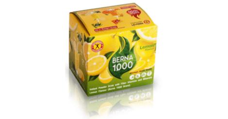 NatureGift Berna 1000 Lemon healthy weight loss slimming drinks