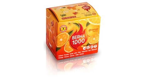 NatureGift Berna 1000 Orange weight loss slimming drinks