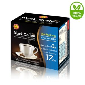 NatureGift Black Coffee Plus Co-Enzyme Q10 Vegan