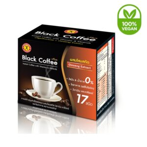 NatureGift Black Coffee Plus Ginseng Extract Vegan